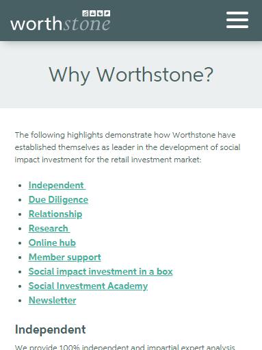 worthstone text